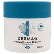 Derma E, Vitamin E 12,000 IU Creme, 4 oz (113 g)