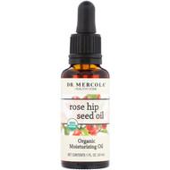 Dr. Mercola, Organic Moisturizing Oil, Rose Hip Seed Oil, 1 fl oz (30 ml)