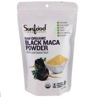 Sunfood, Raw Organic Black Maca Powder, 4 oz (113 g)