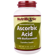 NutriBiotic, Ascobic Acid Crystalline Powder with Bioflavonoids, 8 oz (227 g)
