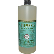 Mrs. Meyers Clean Day, Multi-Surface Concentrate, Basil, 32 fl oz (946 ml)