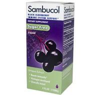 Sambucol Black Elderberry Liquid Sugar Free - 4 fl oz