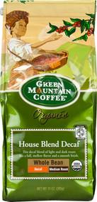 Green Mountain Coffee, Organic Whole Bean Coffee Medium Roast House Blend - 10 oz