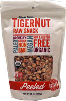 Organic Gemini TigerNut Raw Snack Peeled - 12 oz