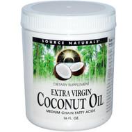 Source Naturals 100% Organic Virgin Coconut Oil -- 15 fl oz