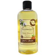 A La Maison de Provence, Bath & Shower Liquid Soap, Sweet Almond, 16.9 fl oz (500 ml)