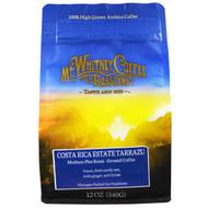 Mt. Whitney Coffee Roasters, Costa Rica Estate Tarrazu, Medium Plus Roast, Ground Coffee, 12 oz (340 g)