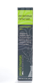 Peaceful Mountain, Eczema Rescue Homeopathic Lotion - 1 oz
