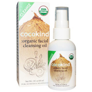 Cocokind, Organic Facial Cleansing Oil, 2 fl oz (60 ml)
