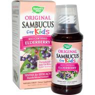 Natures Way, Original Sambucus for Kids, Standardized Elderberry, 4 fl oz (120 ml)