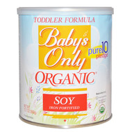 Natures One, Babys Only, Organic Toddler Formula, Soy, 12.7 oz (360 g)