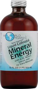 World Organic Mineral Energy Liquid Colloidal - 16 fl oz