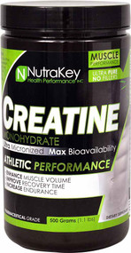 NutraKey Creatine Monohydrate - 1.1 lbs