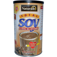 Naturade, Total Soy, All Natural Meal Replacement, Bavarian Chocolate, 17.88 oz (507 g)