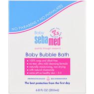 Sebamed USA, Baby Bubble Bath, 6.8 fl oz (200 ml)