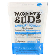 Mollys Suds, Laundry Powder, Ultra Concentrated, Peppermint, 47 oz (1.33