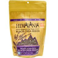 Himalania, Organic & Fair Trade Black Chia Seeds, 10 oz (283 g)