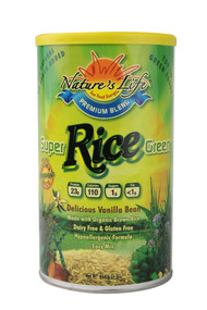 Natures Life, Super Green Brown Rice Protein,  Vanilla Bean - 1 lb