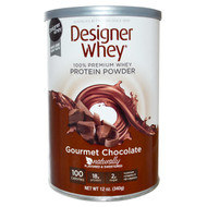 Designer Protein Protein Powder Gourmet Chocolate - 12 oz