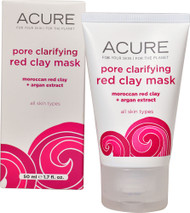 Acure Organics, Pore Clarifying Red Clay Mask, 1.7 fl oz (50 ml)