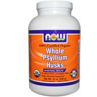 Now Foods, Organic Whole Psyllium Husks, 12 oz (340 g)