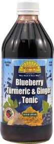 Dynamic Health Gluten Free Tonic Blueberry Turmeric & Ginger - 16 fl oz