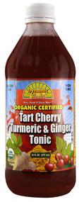 Dynamic Health Organic Tart Cherry Turmeric & Ginger Tonic - 16 fl oz