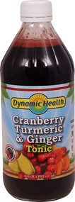 Dynamic Health Gluten Free Tonic Cranberry Turmeric & Ginger - 16 fl oz