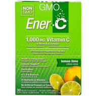 Ener-C, Vitamin C, Effervescent Powdered Drink Mix, Lemon Lime, 30 Packets, 10.1 oz. (285.6 g)