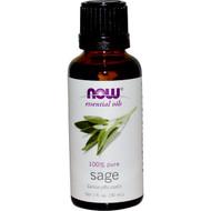 Now Foods, Essential Oils, Sage, 1 fl oz (30 ml)