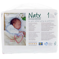3 PACK OF Naty, Diapers, Size 1, 4-11 lbs (2-5, 26 Diapers
