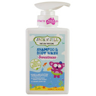 Jack n Jill, Natural Bathtime, Shampoo & Body Wash, Sweetness, 10.14 fl oz (300 ml)