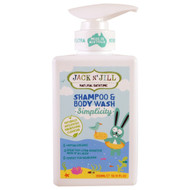 Jack n Jill, Natural Bathtime, Shampoo & Body Wash, Simplicity, 10.14 fl oz (300 ml)