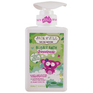 Jack n Jill, Natural Bathtime, Bubble Bath, Sweetness, 10.14 fl. oz (300 ml)