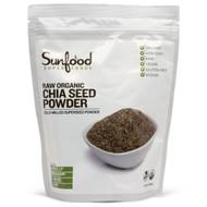 SunFood Raw Organic Chia Seed Powder -- 1 lb