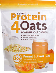 PEScience Select Protein4Oats Peanut Butter & Honey - 12 Servings