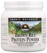Source Naturals Brown Rice Protein Powder -- 16 oz