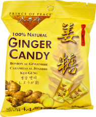 Prince of Peace 100% Natural Ginger Candy - 8 Bags