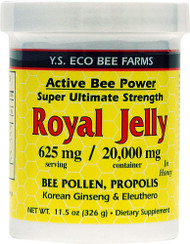 YS Eco Bee Farms, Alive Bee Power Royal Jelly Paste - 625 mg - 11.5 oz
