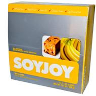 SoyJoy, All Natural Baked Whole Soy & Fruit Bar, Banana, 12 Bars, 1.05 oz (30 g) Each