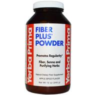 Yerba Prima, Fiber Plus Powder, Apple Spice Flavor, 12 oz (340 g)