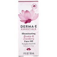 Derma E, Illuminating Face Oil, Rosehip & Cranberry, 1 fl oz (30 ml)