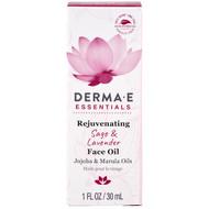 Derma E, Rejuvenating Face Oil, Sage & Lavender , 1 fl oz (30 ml)