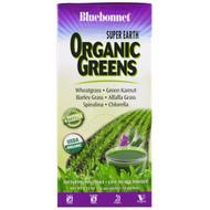 Bluebonnet Nutrition, Super Earth, Organic Greens, 14 Packets, 0.25 oz (7 g) Each