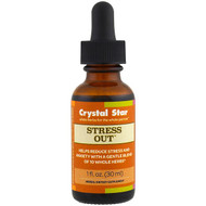 Crystal Star, Stress Out, 1 fl oz (30 ml)