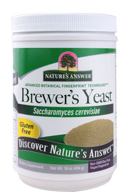 Natures Answer, Brewers Yeast - 16 oz