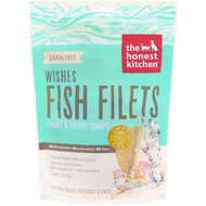 The Honest Kitchen, Wishes Fish Filets, Light & Crispy Snaps, For Dogs and Cats, 3 oz (85 g)