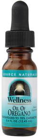 Source Naturals Wellness Oil of Oregano -- 0.4 fl oz