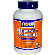 NOW Foods Magnesium Ascorbate Powder - 8 oz