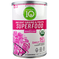 Designer Protein, Organic, Essential 10, Ancient Grains & Fruits Superfood, 12 oz (340 g)